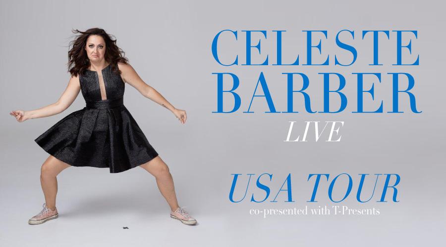 Celeste Barber | Iowa City Englert Theatre: It All Happens Here