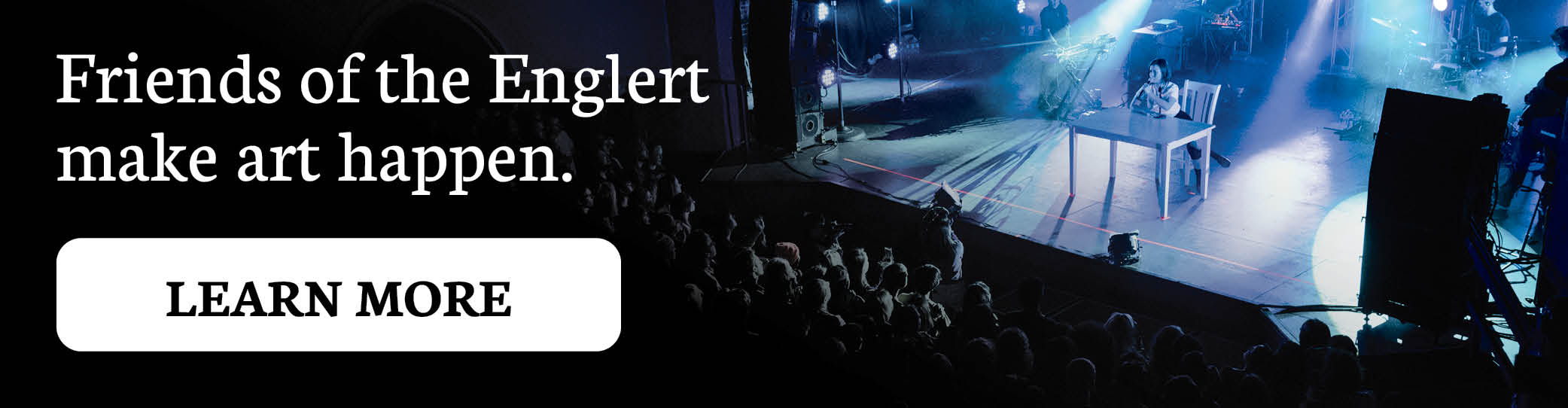 Friends of the Englert Banner Ad